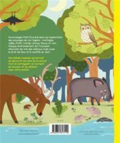 Je découvre la nature ; avec les cris des animaux - 4ème de couverture - Format classique