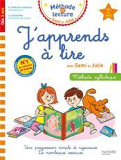 J'apprends à lire avec Sami et Julie - Couverture - Format classique