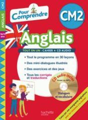 Pour comprendre l'anglais ; CM2 - Couverture - Format classique