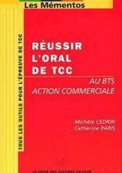 Reussir l'oral de tcc - Couverture - Format classique
