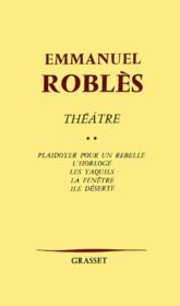 Théâtre t.2 - Couverture - Format classique