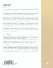 Le Mercator ; Theorie Et Pratique Du Marketing ; 6e Edition - 4ème de couverture - Format classique