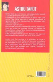 Astro-tarot ; reponses au jour le jour, signe par signe - 4ème de couverture - Format classique