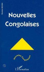 Nouvelles Congolaises - Couverture - Format classique