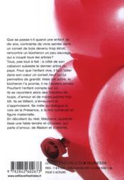 Une chenille dans le coeur - 4ème de couverture - Format classique