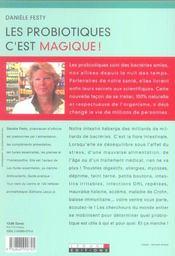 Pro-Biotiques C'Est Magique ! (Les) - 4ème de couverture - Format classique