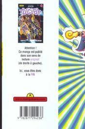 Yu-Gi-Oh t.19 - 4ème de couverture - Format classique