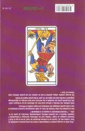 Le tarot ; méthode complète - 4ème de couverture - Format classique