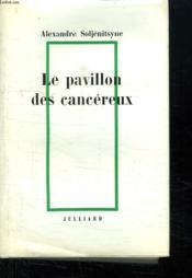 Le Pavillon Des Cancereux. - Couverture - Format classique