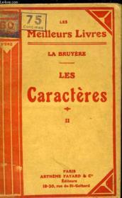 Les Caracteres Ou Les Moeurs De Ce Siecle - Tome 2 - Couverture - Format classique