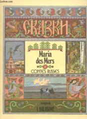 Maria Des Mers - Contes Russes - Couverture - Format classique