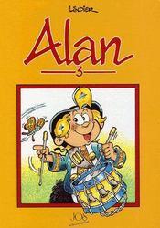 Alan t.3 - Couverture - Format classique
