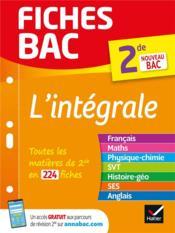 FICHES BAC ; l'integrale 2de - Couverture - Format classique