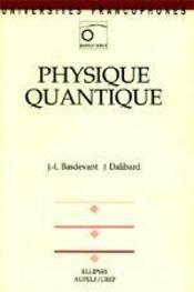 Physique Quantique - Intérieur - Format classique