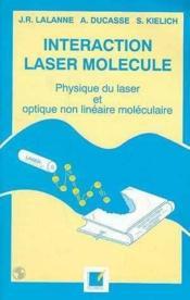 Interaction Laser Molecule - Couverture - Format classique