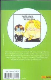 Darling, la recette de l'amour t.3 - 4ème de couverture - Format classique