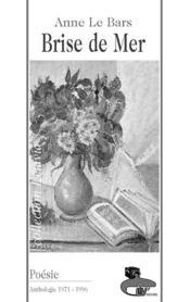 Brise De Mer - Couverture - Format classique