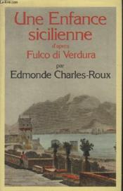 Une Enfance Sicilienne. - Couverture - Format classique