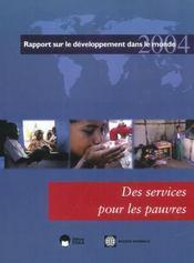 Services Pour Les Pauvres (Des) - Intérieur - Format classique