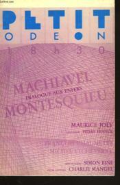 Dialogue Aux Enfers Entre Machiavel Et Montesquieu. Adaptation Theatrale De Pierre Franck. - Couverture - Format classique