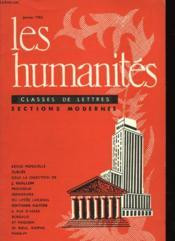 Les Humanites N°44 - Classes De Lettres - Sections Classiques - Couverture - Format classique