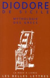 Mythologie des grecs - Couverture - Format classique