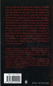 Le Grenier Des Enfers - 4ème de couverture - Format classique