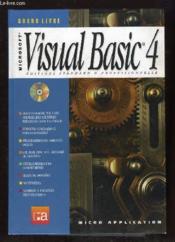 Visual Basic 4 + Cd Rom - Couverture - Format classique