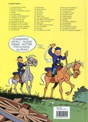 Les tuniques bleues t.35 ; capitain Nepel - 4ème de couverture - Format classique