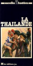 La thailande - Couverture - Format classique