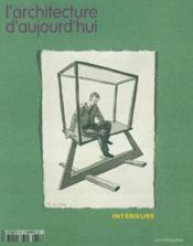 Revue L'Architecture D'Aujourd'Hui N.351 ; Intérieurs - Couverture - Format classique