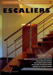 Escaliers (Escaliers Droits, A Quartiers Tournants, Balances, C - Couverture - Format classique