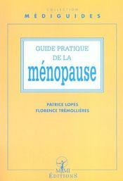 Guide Pratique De La Menopause - Intérieur - Format classique