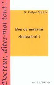 Bon Ou Mauvais Cholesterol ? - Intérieur - Format classique