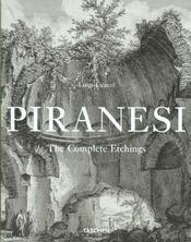 Piranesi - the complete etchings-trilingue - mi - Intérieur - Format classique