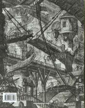 Piranesi - the complete etchings-trilingue - mi - 4ème de couverture - Format classique