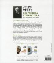Les premiers explorateurs ; à la découverte de la Terre - 4ème de couverture - Format classique