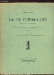 Memoires De La Societe Archeologique Du Midi De La France. Tome Xxiii. - Couverture - Format classique