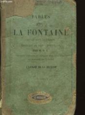 Fables de La Fontaine. - Couverture - Format classique