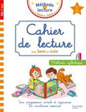 Cahier de lecture avec Sami et Julie - Couverture - Format classique