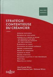 Stratégie contentieuse du créancier (2e édition) - Intérieur - Format classique