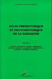 Atlas préhistorique et protohistorique de la Sardaigne t.2 - Couverture - Format classique