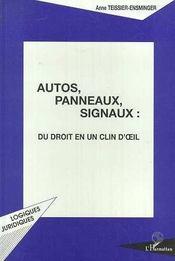 Autos, panneaux, signaux : du droit en un clin d'oeil - Intérieur - Format classique