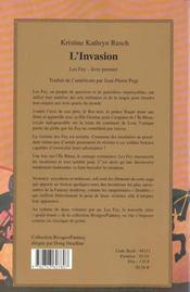 L'Invasion - 4ème de couverture - Format classique