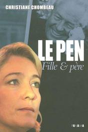 Marine Le Pen, à l'ombre du père - Intérieur - Format classique
