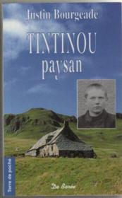 Tintinou, paysan - Couverture - Format classique