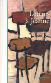 Lettres a jeanne - Couverture - Format classique