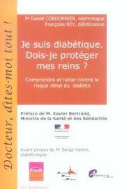 Je Suis Diabetique. Dois-Je Proteger Mes Reins ? - Intérieur - Format classique