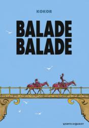 Balade balade - Couverture - Format classique
