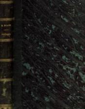 Poésies complètes de Henri Blaze. Le Souper chez le commandeur. La Voie lactée. Ce que disent les marguerites. Églantine - Couverture - Format classique